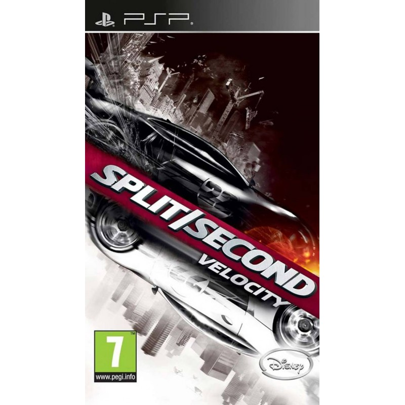 PSP SPLIT SECOND - Jeux PSP au prix de 6,95€
