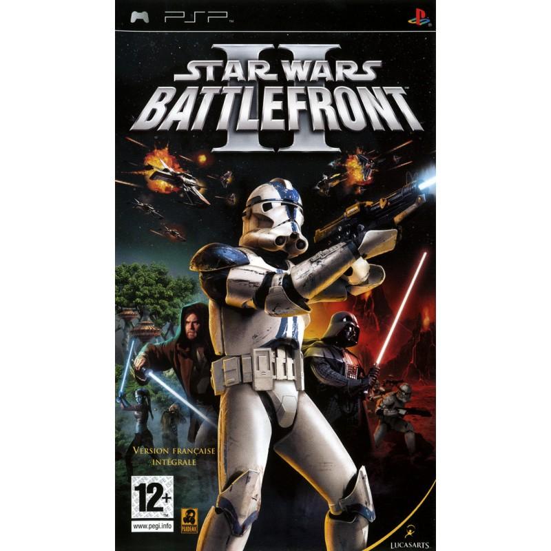 PSP STAR WARS BATTLEFRONT 2 - Jeux PSP au prix de 6,95€