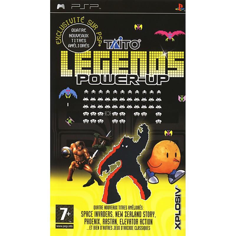 PSP TAITO LEGENDS POWERUP - Jeux PSP au prix de 6,95€