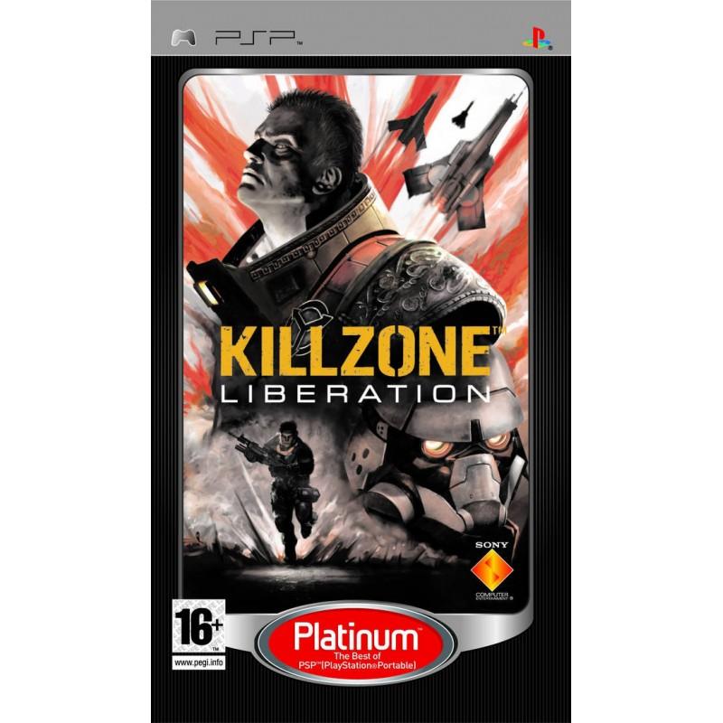 PSP KILLZONE LIBERATION (PLATINUM) - Jeux PSP au prix de 4,95€