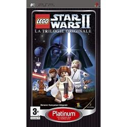 PSP LEGO STAR WARS 2 LA TRILOGIE ORIGINALE (PLATINUM) - Jeux PSP au prix de 9,95€