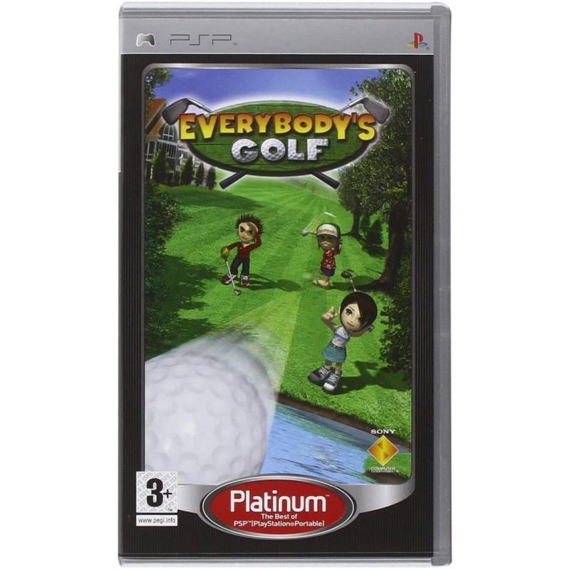 PSP EVERYBODYS GOLF (PLATINUM) - Jeux PSP au prix de 4,95€