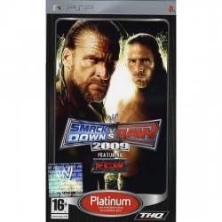 PSP WWE SMACKDOWN VS RAW 2009 (PLATINUM) - Jeux PSP au prix de 4,95€