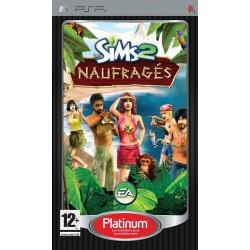 PSP LES SIMS 2 NAUFRAGES (PLATINUM) - Jeux PSP au prix de 5,95€