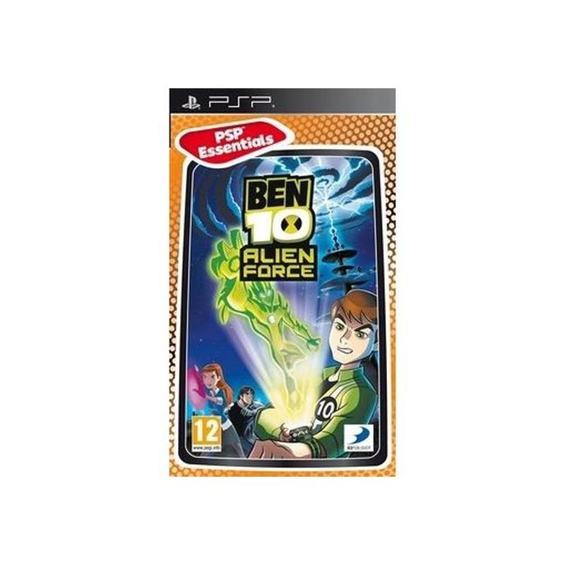 PSP BEN 10 ALIEN FORCE (ESSENTIALS) - Jeux PSP au prix de 5,95€
