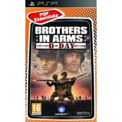 PSP BROTHERS IN ARMS D DAY (ESSENTIALS) - Jeux PSP au prix de 5,95€