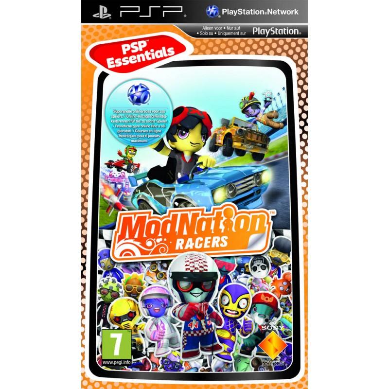 PSP MODNATION RACERS (ESSENTIALS) - Jeux PSP au prix de 5,95€