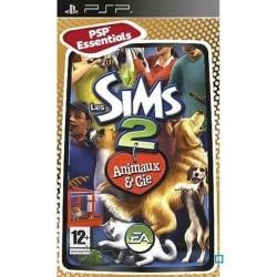 PSP LES SIMS 2 ANIMAUX ET CIE (ESSENTIALS) - Jeux PSP au prix de 4,95€