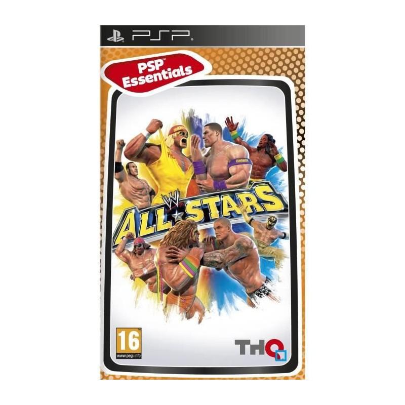 PSP WWE ALL STARS (ESSENTIALS) - Jeux PSP au prix de 4,95€