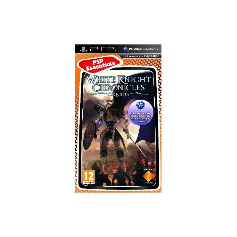 PSP WHITE KNIGHT CHRONICLES ORIGINS (ESSENTIALS) - Jeux PSP au prix de 7,95€