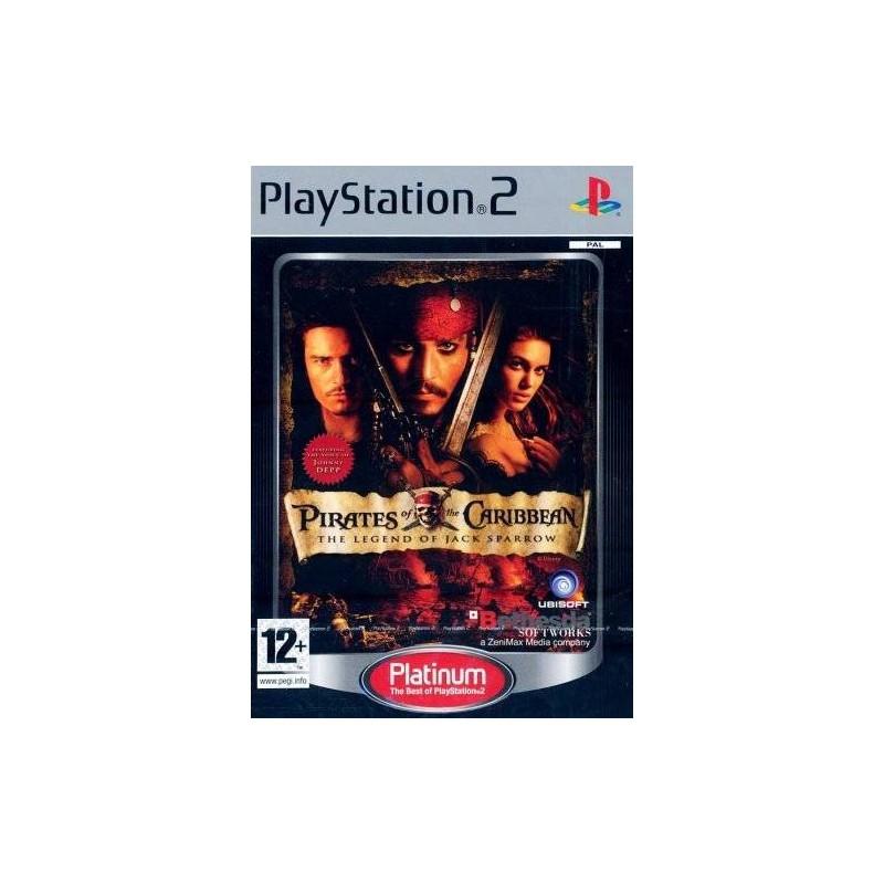PS2 PIRATES DES CARAIBES LA LEGENDE DE JACK SPARROW PLATINUM - Jeux PS2 au prix de 2,95€