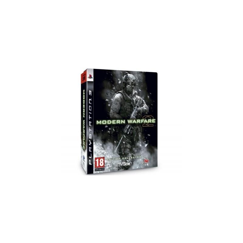 PS3 CALL OF DUTY MODERN WARFARE 2 (STEELBOOK) - Jeux PS3 au prix de 6,95€