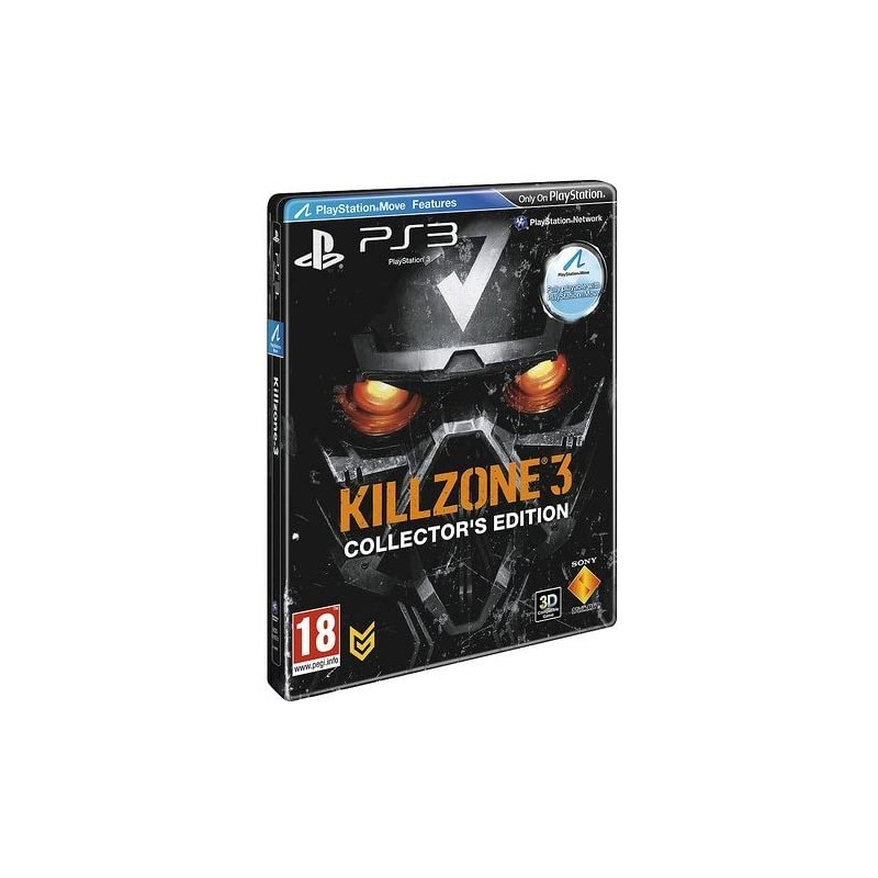 PS3 KILLZONE 3 EDITION COLLECTOR - Jeux PS3 au prix de 7,95€