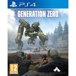 PS4 GENERATION ZERO OCC - Jeux PS4 au prix de 9,95€