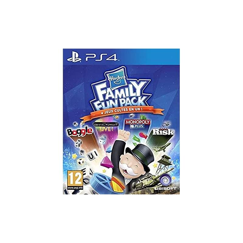 PS4 HASBRO FAMILY FUN PACK OCC - Jeux PS4 au prix de 12,95€