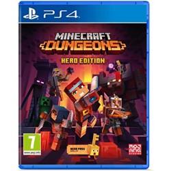 PS4 MINECRAFT DUNGEONS HERO EDITION OCC - Jeux PS4 au prix de 14,95€