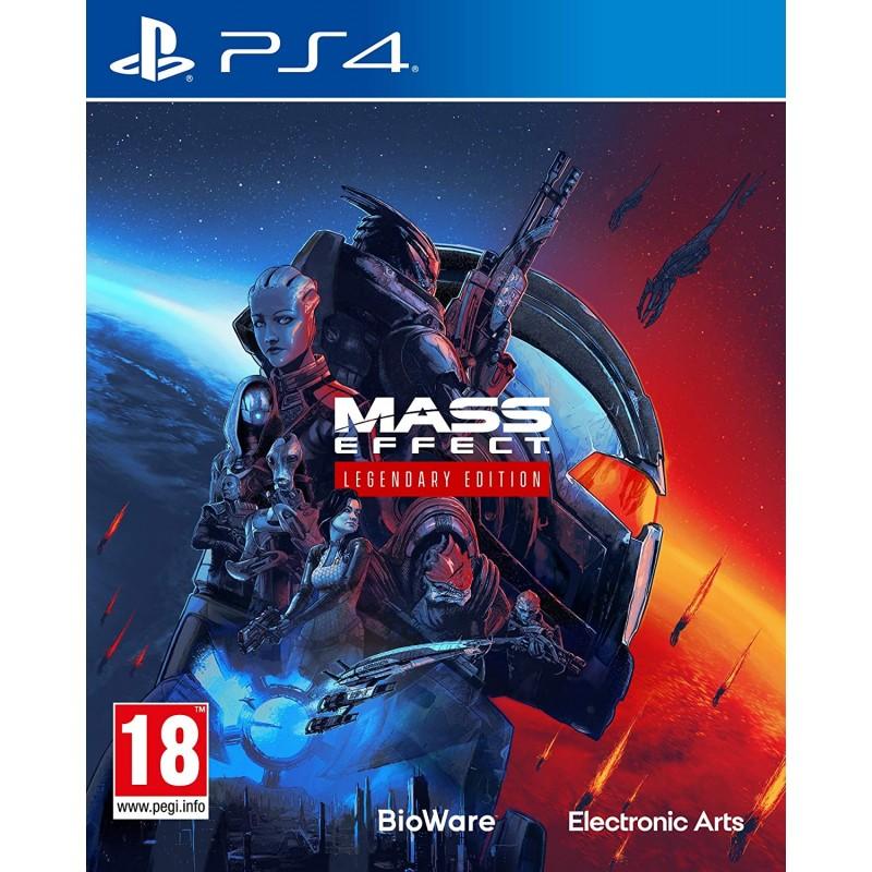 PS4 MASS EFFECT TRILOGY LEGENDARY EDITION - Jeux PS4 au prix de 64,95€