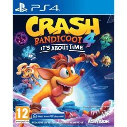 PS4 CRASH BANDICOOT 4 IT S ABOUT TIME OCC - Jeux PS4 au prix de 39,95€
