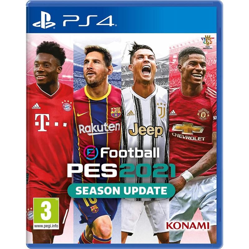 PS4 PES 2021 SEASON UPDATE OCC - Jeux PS4 au prix de 14,95€