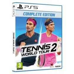 PS5 TENNIS WORLD TOUR 2 - Jeux PS5 au prix de 44,95€