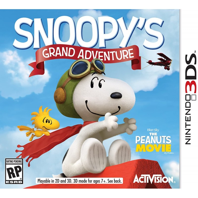 3DS SNOOPY S GRAND ADVENTURE - Jeux 3DS au prix de 4,95€