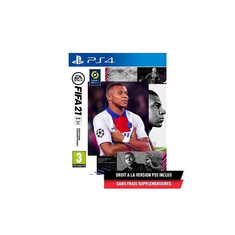PS4 FIFA 21 EDITION CHAMPIONS - Jeux PS4 au prix de 89,95€