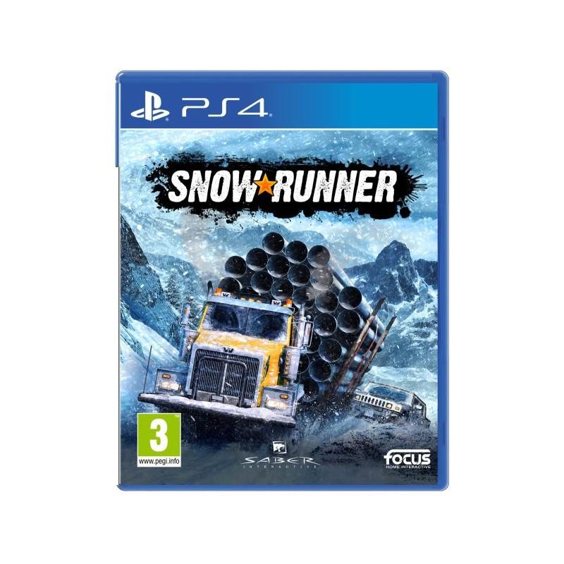 PS4 SNOW RUNNER - Jeux PS4 au prix de 44,95€