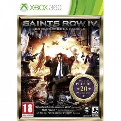 X360 SAINTS ROW IV LES BIJOUX DE LA FAMILLE - Jeux Xbox 360 au prix de 7,95€