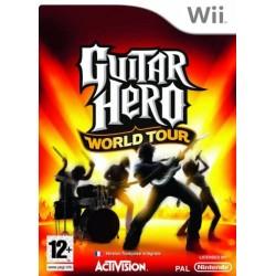 WII GUITAR HERO WORLD TOUR - Jeux Wii au prix de 6,95€