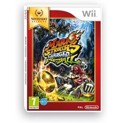 WII MARIO STRIKERS CHARGED FOOTBALL NINTENDO SELECTS - Jeux Wii au prix de 9,95€