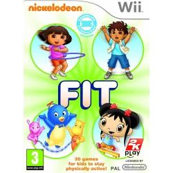 WII NICKELODEON FIT - Jeux Wii au prix de 9,95€