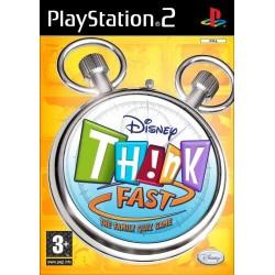 PS2 DISNEY THINK FAST ET BUZZ - Jeux PS2 au prix de 7,95€