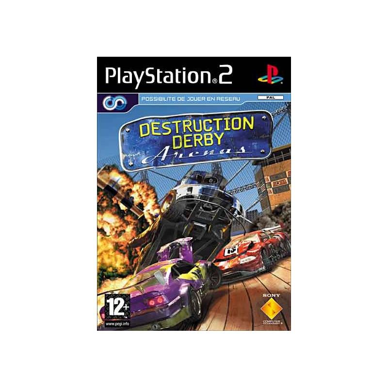 PS2 DESTRUCTION DERBY ONLINE ARENA - Jeux PS2 au prix de 8,95€