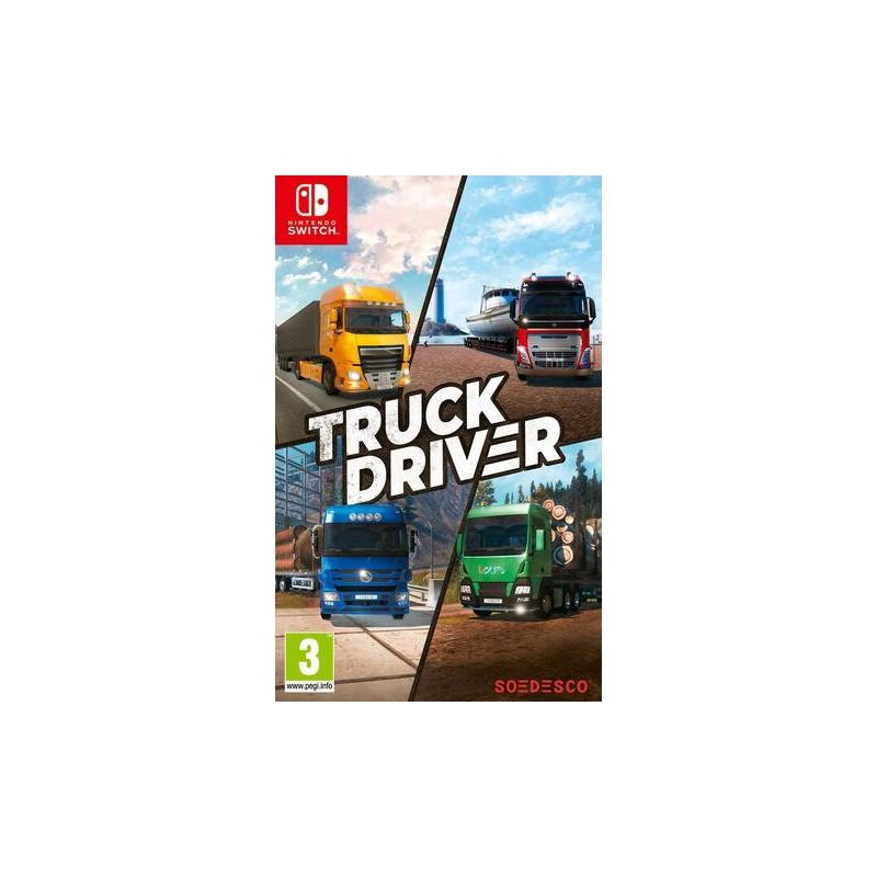 SWITCH TRUCK DRIVER OCC - Jeux Switch au prix de 19,95€