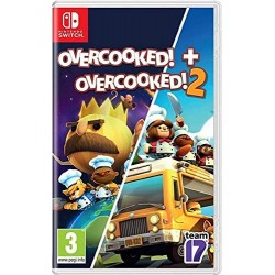 SWITCH OVERCOOKED 1+2 DOUBLE PACK OCC - Jeux Switch au prix de 24,95€