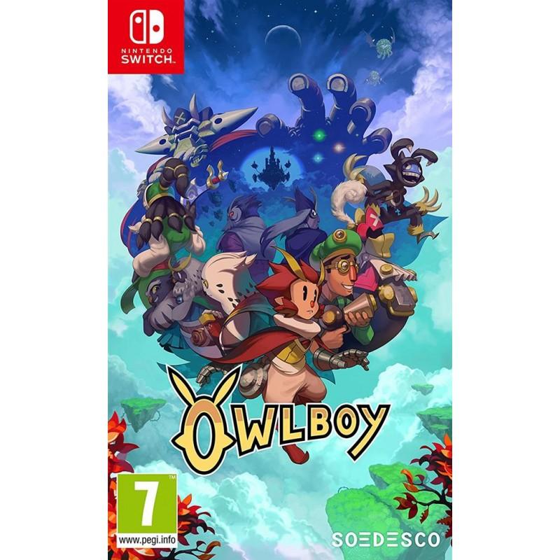 SWITCH OWLBOY - Jeux Switch au prix de 34,95€