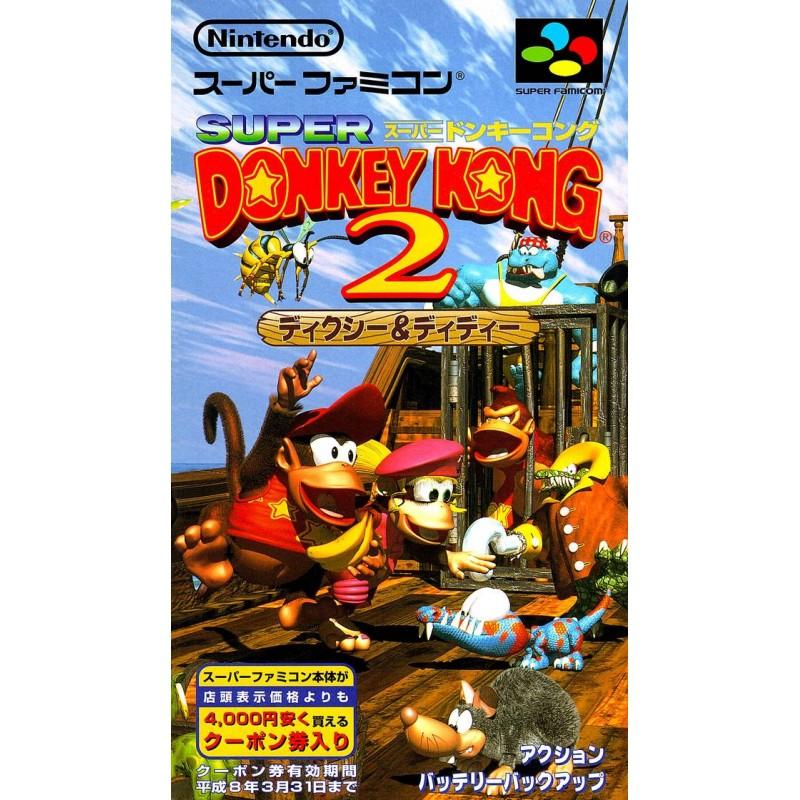 SN DONKEY KONG 2 (IMPORT JAP) - Jeux Super NES au prix de 29,95€