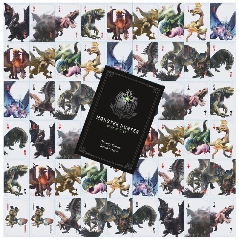 JEUX DE CARTE MONSTER HUNTER WORLD - Autres Goodies au prix de 7,95€