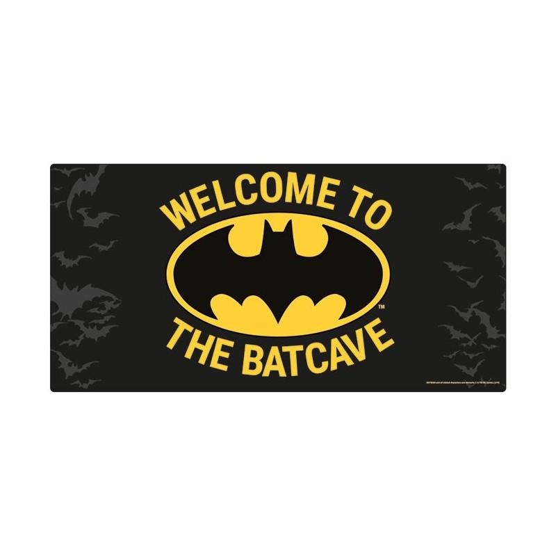 PLAQUE METAL DC COMICS BATMAN WELCOME TO THE BATCAVE 30X60CM - Autres Goodies au prix de 22,95€
