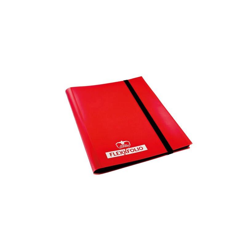 PORTFOLIO A5 FLEXXFOLIO ROUGE 4X4 160 CARTES - Cartes à collectionner ou jouer au prix de 9,95€