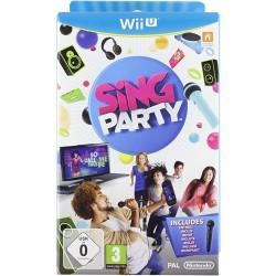 WIU SING PARTY - Jeux Wii U au prix de 0,00€