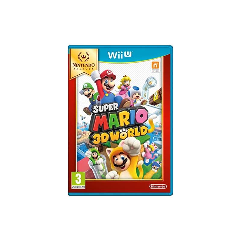 WIU SUPER MARIO 3D WORLD SELECTS - Jeux Wii U au prix de 14,95€