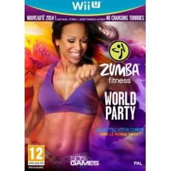 WIU ZUMBA FITNESS WORLD PARTY - Jeux Wii U au prix de 29,95€