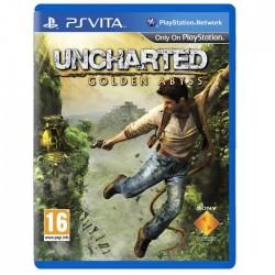 PSV UNCHARTED GOLDEN ABYSS - Jeux PS Vita au prix de 14,95€