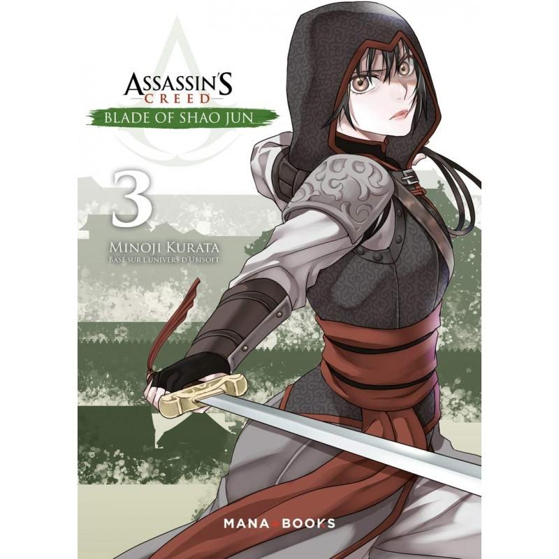 ASSASSIN S CREED BLADE OF SHAO JUN T03 - Manga au prix de 7,90€