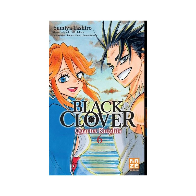 BLACK CLOVER QUARTET KNIGHTS T06 - Manga au prix de 6,89€