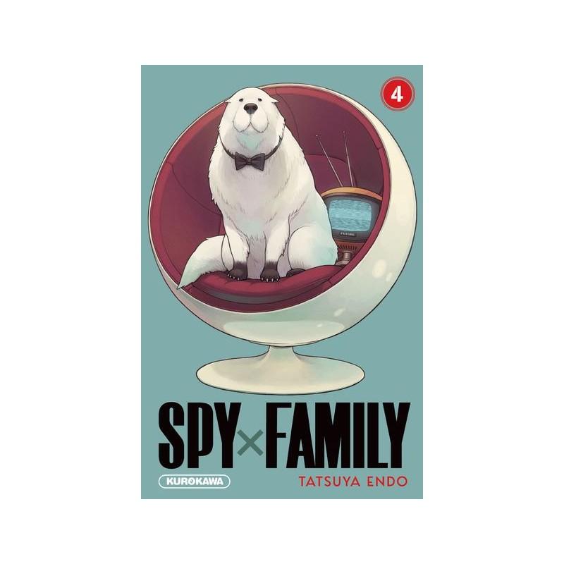 SPY FAMILY T04 - Manga au prix de 6,90€