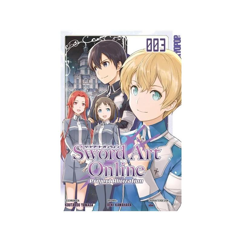 SWORD ART ONLINE PROJECT ALICIZATION T03 - Manga au prix de 6,99€