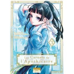 LES CARNETS DE L APOHICAIRE T03 - Manga au prix de 7,90€