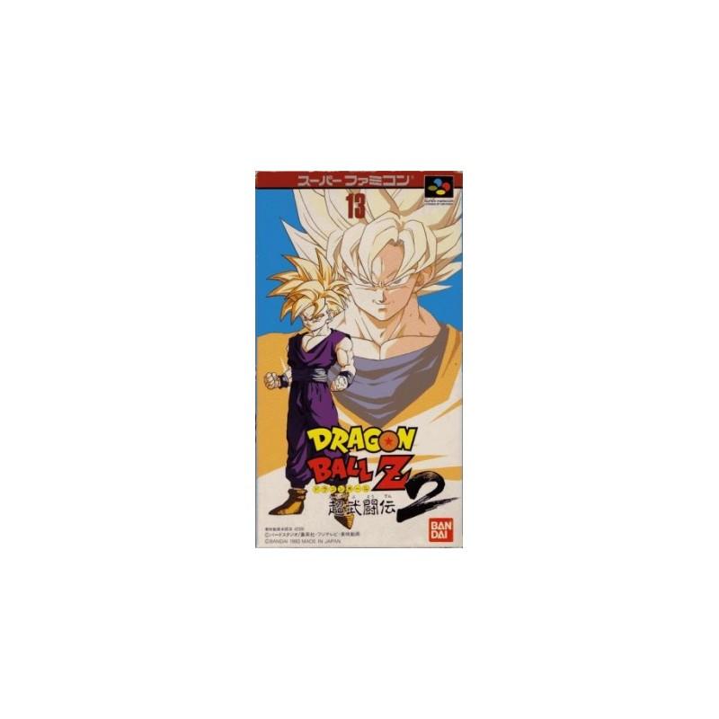 SN DRAGON BALL Z SUPER BUTOUDEN 2 (IMPORT JAP) - Jeux Super NES au prix de 29,95€